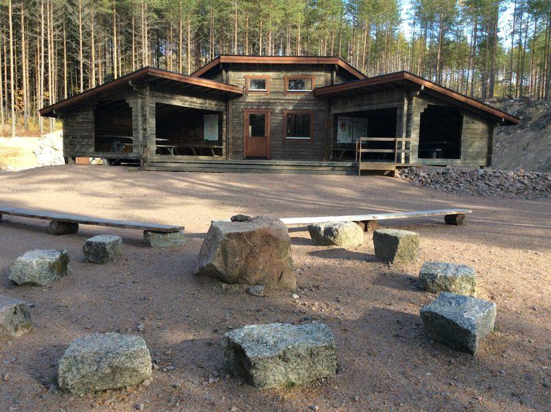 Valkjärvi camping site
