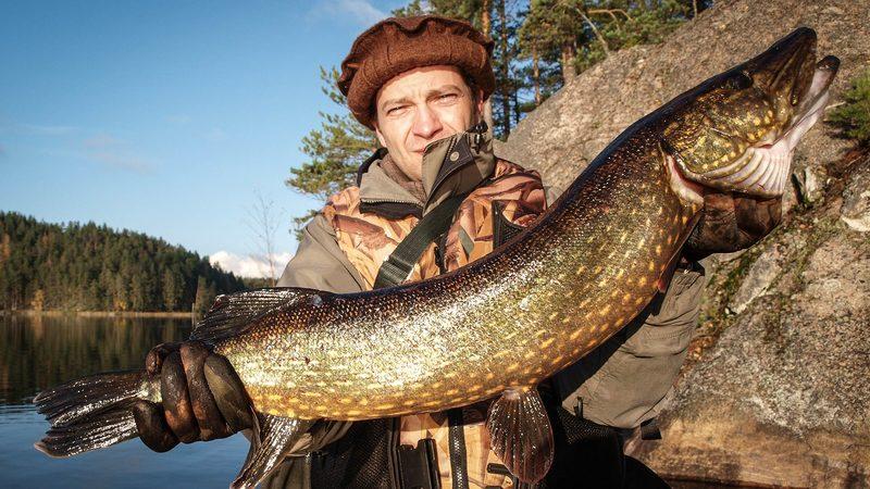 Kalastaminen Repovedellä