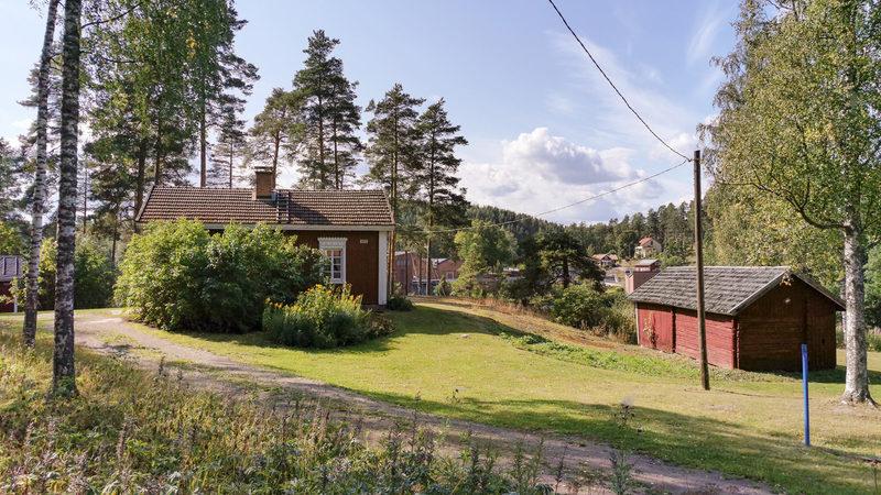 1800-luvulla rakennetut Valkeala Bostad -mökit